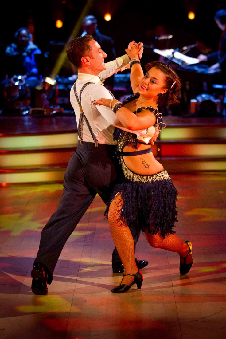 Dani Harmer and Vincent Simone - Strictly Come Dancing - Week 10 - December 2012