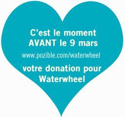 c'est le moment, avant le 9 mars de faire un don pour Waterwheel http://pozible.com/waterwheel