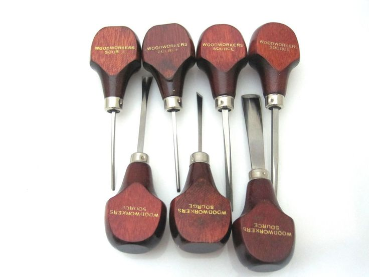 7 Piece Woodworkers Source Wood Carving Tools . Mixed Sizes #WoodworkingSource