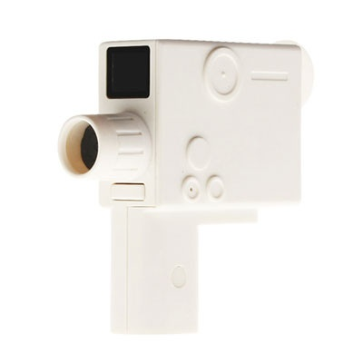 Via Alley — Bee 8mm Retro Camera - white: Retro Cameras