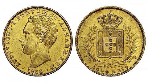 As principais moedas em ouro consideradas como reserva de valor ... arlloufill.com480 × 265Pesquisar por imagens 2000 Reis-Moeda D. Luis I