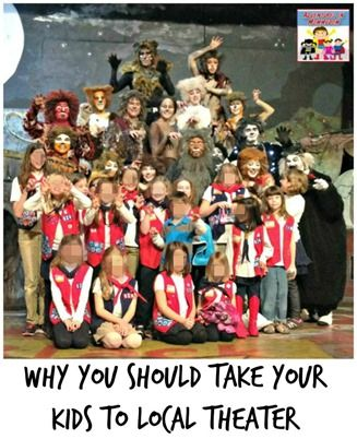 Why you should take your kids to local theater - Adventures in Mommydom