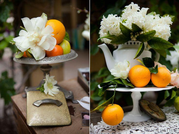 Rancho Valencia Resort 'vintage' style decor | San Diego Wedding Blog