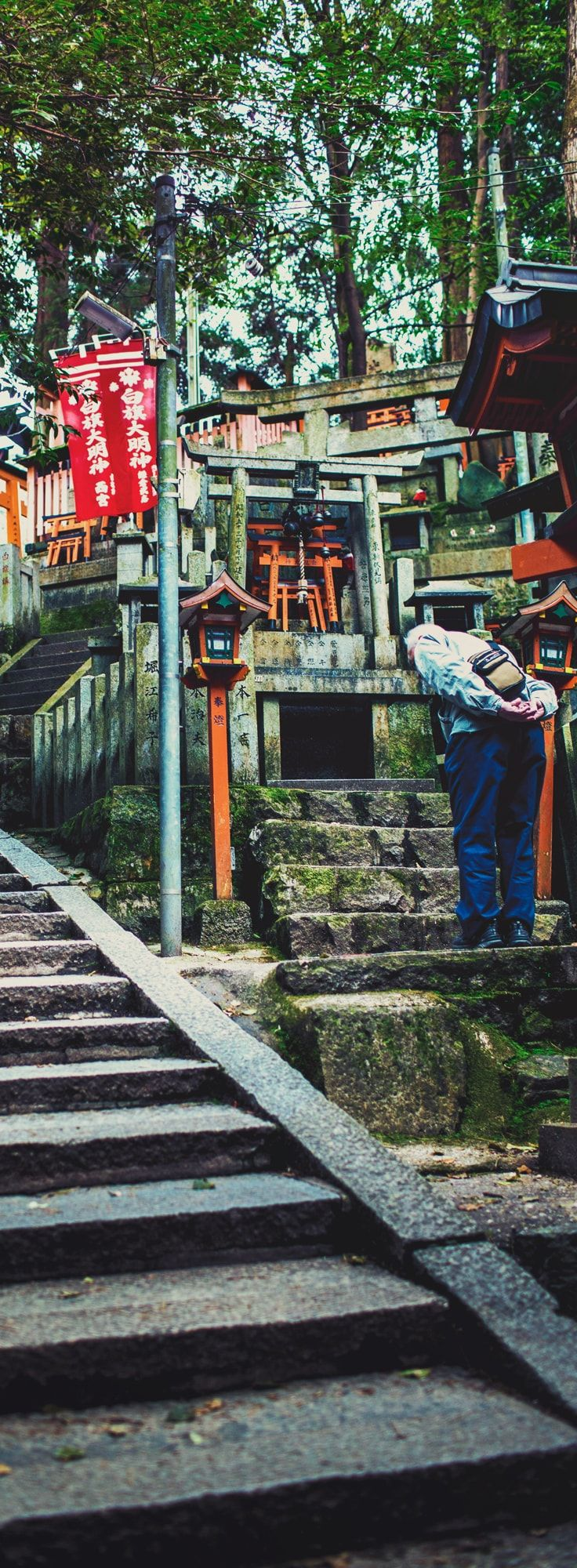 Comprehensive Travel Guide to Fushimi Inari Shrine at Inari Mountain, the most famous of several thousand shrines dedicated to Inari, the Shinto God of rice and prosperity. @ A Travel Diary