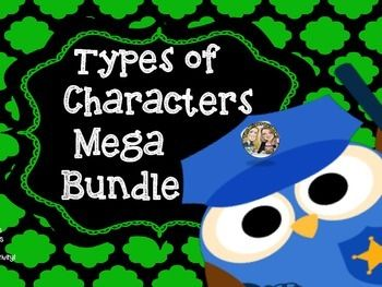Need resources to teach TYPES OF CHARACTERS! Look no further!Here is Everything you need to Teach TYPES OF CHARACTERS!Here's What's Included:2 Types of Characters Poster with definitions (protagonist, antagonist, major, minor, dynamic, and static)CCCS Lesson Focus for students to glue into their Reader's Notebook or Composition Books.
