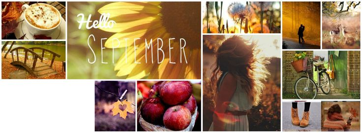 Autumn facebook cover collage