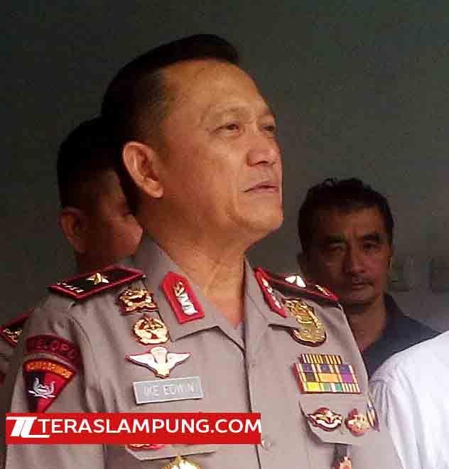 """Teras Lampung: Kapolda: Saya tidak Ingin Lagi Mendengar ada Istilah """"Jabung Kampung Begal"""""""