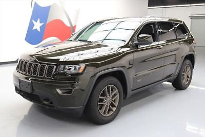 eBay: 2016 Jeep Grand Cherokee 2016 JEEP GRAND CHEROKEE 75TH ANNIV HTD LEATHER NAV 11K #436739 Texas Direct #jeep #jeeplife