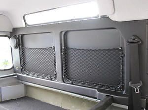 2 x Land Rover Defender 90 Interior Side Panel Trim Cargo Netting