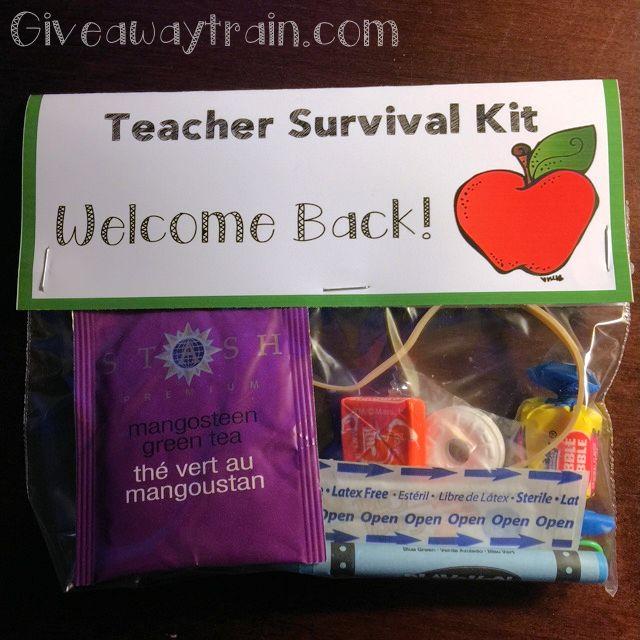 25 Best Ideas About Teacher Survival Kits On Pinterest