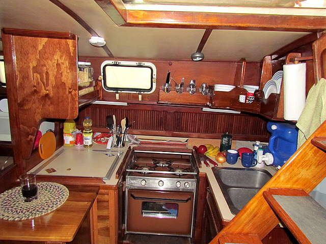 67 best images about steamboat on pinterest for Boat galley kitchen designs