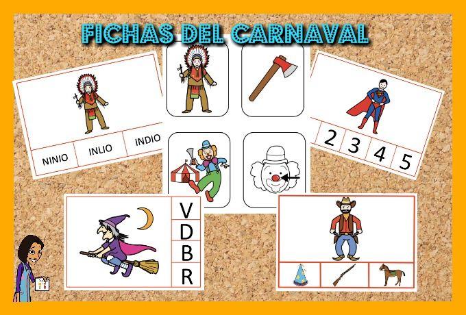 FICHAS Y JUEGOS DEL CARNAVAL