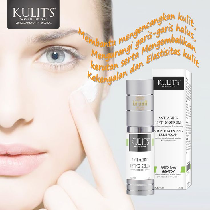 Kulit's Anti Aging Lifting Serum - 17 ml - Lifting aging serum ini membantu mengencangkan kulit, mengurangi garis-garis halus, kerutan serta mengembalikan kekenyalan dan elastisitas kulit - Line: @urbandepo WA: 0811890101 #beauty #cantik #kulits #skincare #antiaging #awetmuda #stayyoung #youngerskin #Smoothskin #kulithalus #BPOMApproved #QualityControlled #ClinicallyProvenPhytoceuticals #kulit's #kulitsskincare #kulitsehat #nomercury #naturalingridients #naturalskincare