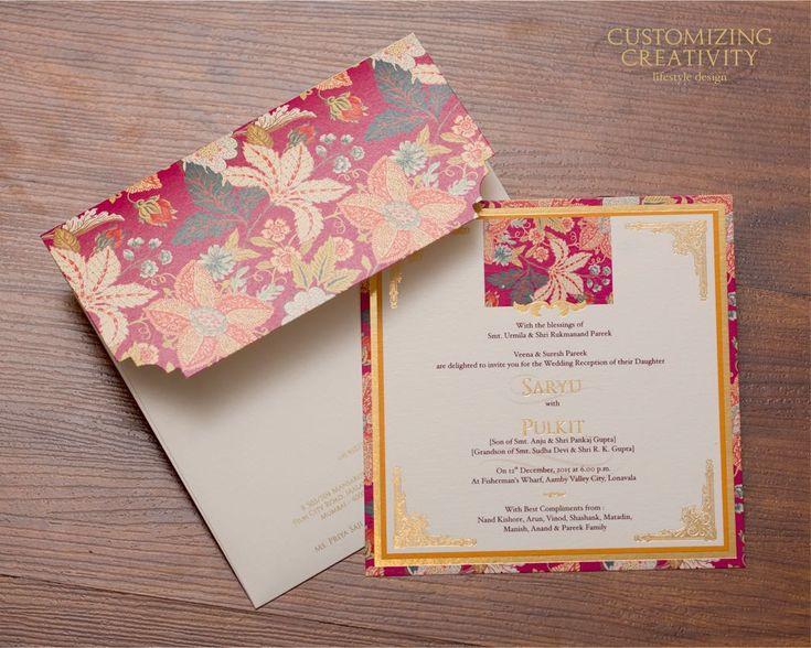 Top 25 best Indian wedding invitation cards ideas on Pinterest