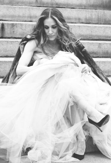 """""""The fact is, sometimes it's really hard to walk in a single woman's shoes. That's why we need really special ones now and then to make the walk a little more fun."""" -- Carrie Bradshaw, Sex And The City - @~ Mlle"""