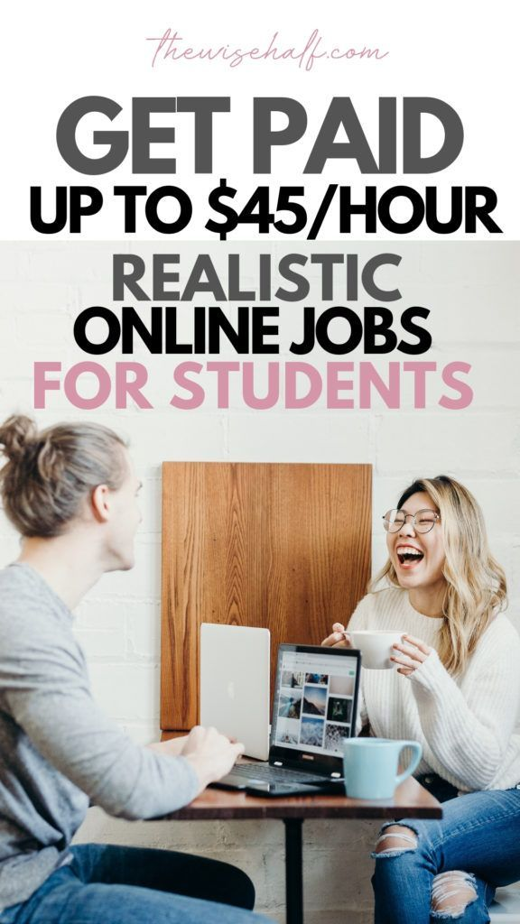 10 Realistic Online Jobs For Students And Get Paid up to $2000 Weekly. – Making money online fast and free