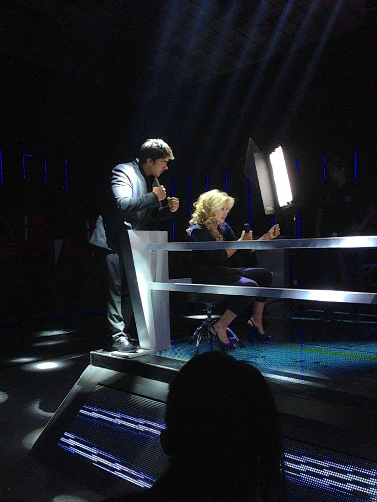 En combate musical en la Voz Colombia Fanny Lu y Luis Fonsi