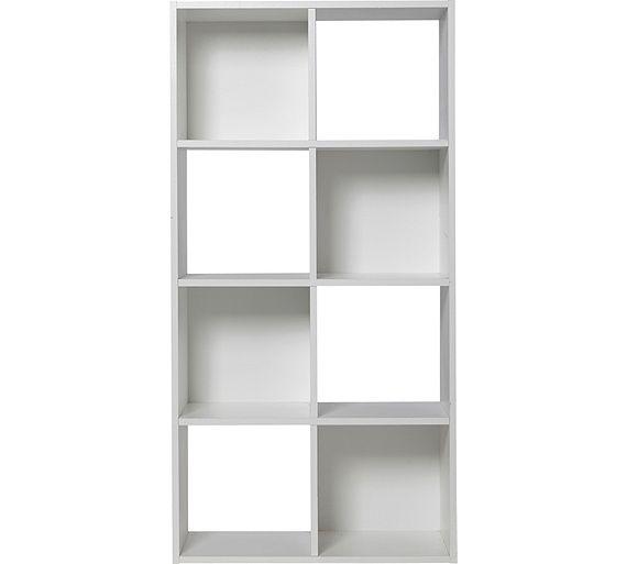 Buy HOME Squares 8 Cube Storage Unit - White at Argos.co.uk, visit Argos.co.uk to shop online for Storage units, Storage, Home and garden