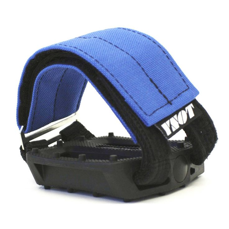 YNOT Cycle | Pedal Straps - Royal Blue