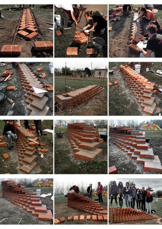 From Digital to Built: Six Experimentations With Brick,By Fidela Antelo, Cecilia Pellegrini, Ana Poliotto, Juan Antonio Rodríguez, Sofía Rothman, Franco Varesi