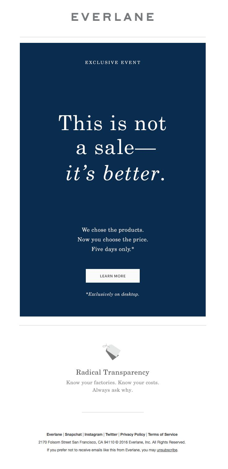 Blue apron unsubscribe mail -  Everlane Sent This Email With The Subject Line This Has Never Happened Read