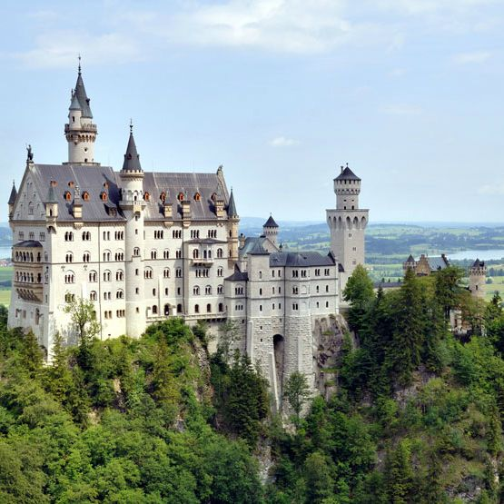 NEUSCHWANSTEIN CASTLE, Germany.  The interior was as breathtaking as the exterior.