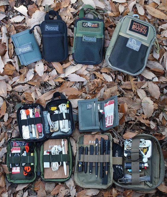EDC Everyday Carry Gear Gadgets Pocket Dump