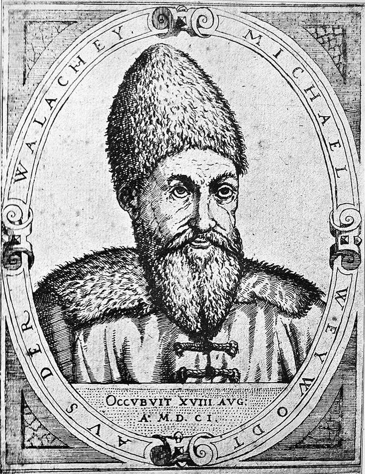 "073 - Mihai Viteazul (1601) ""Weywodt aus der Walachey, occubuit XVIII Aug. a. MDCI""  Ortelius"