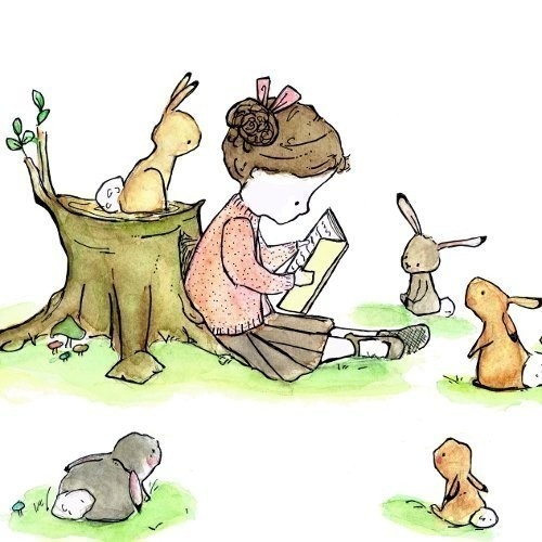bunnies and books