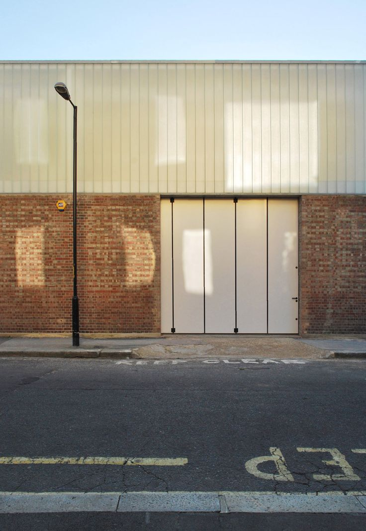 Anish Kapoor studios by Caseyfierro Architects