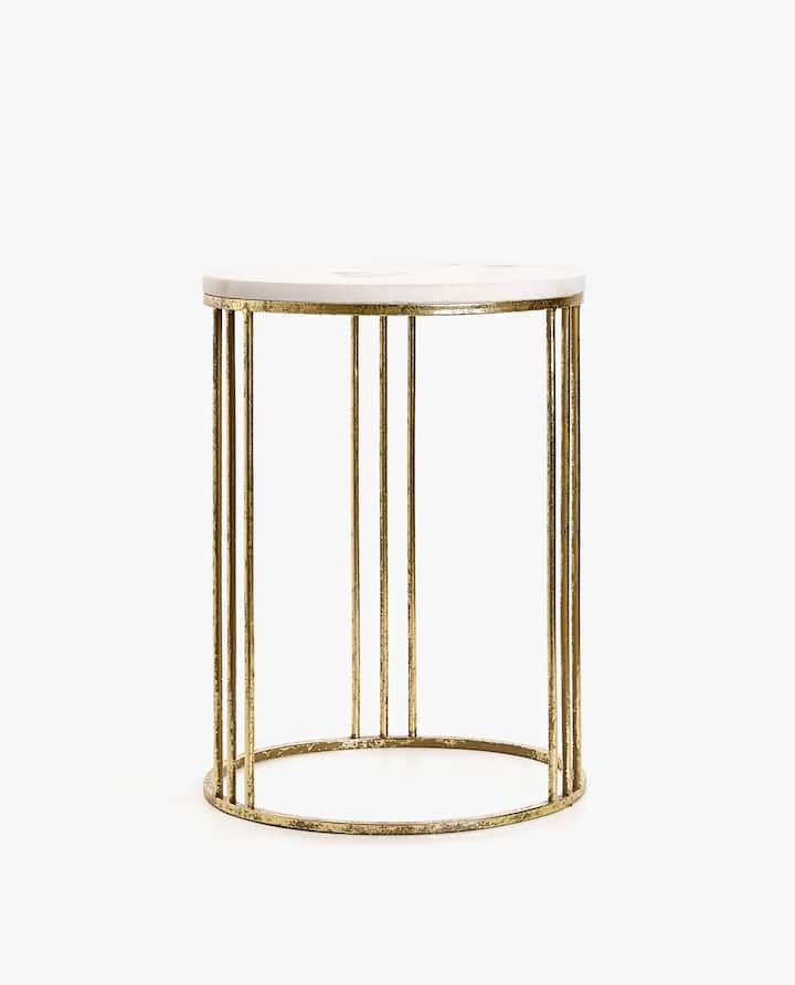 Marble Table With Golden Base Zara Home Coffee Table Coffee