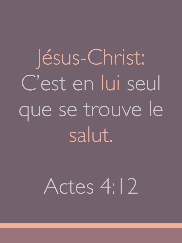 Actes 4:12