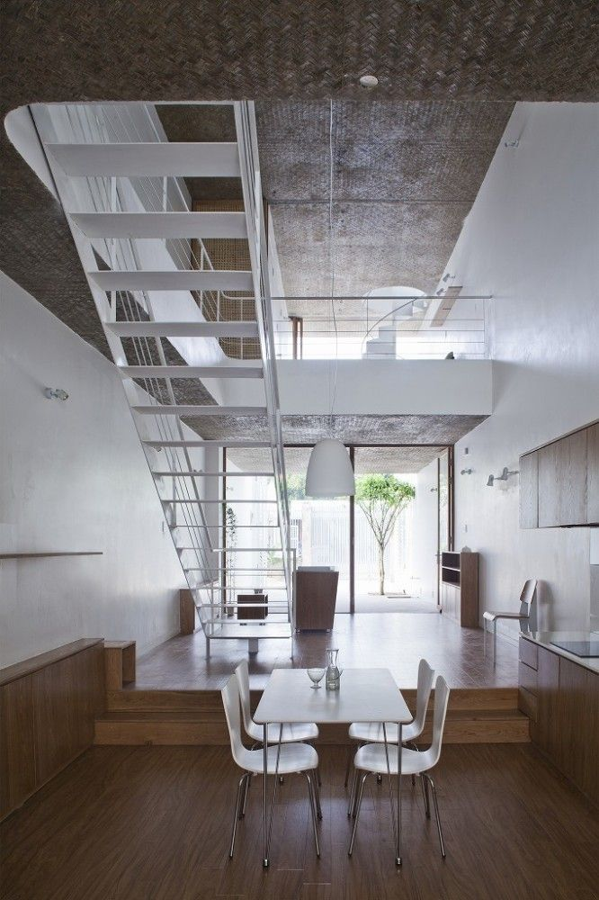 Anh House by S+Na. – Sanuki + Nishizawa architects, Ho Chi Minh City, Vietnam.