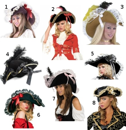 Female pirate hats  4a803cc3087c