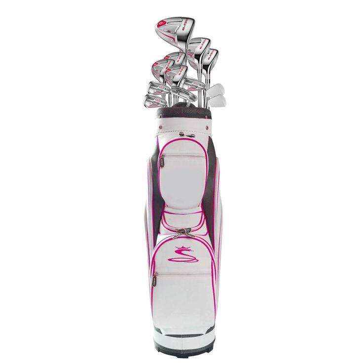 Cobra FLY-Z XL Women's 13-piece Raspberry Right Handed Golf Club Set