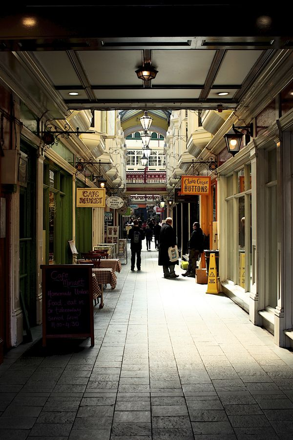 The Victorian Arcades of Cardiff provide the Capital with beautiful boutiques and small independent cafes.