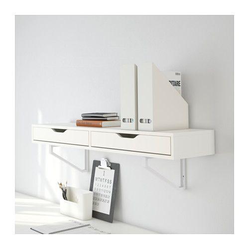 EKBY ALEX Étagère avec tiroirs  - IKEA