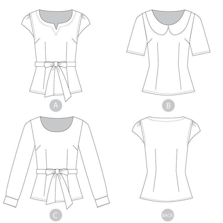 444 besten Sewing Patterns for Women Bilder auf Pinterest ...