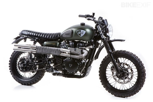 New World Auto Transport This is how we became number 1. #LGMSports Ship it with http://LGMSports.com Triumph Scrambler by British Customs