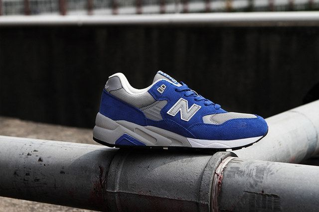 new balance 580 blue grey