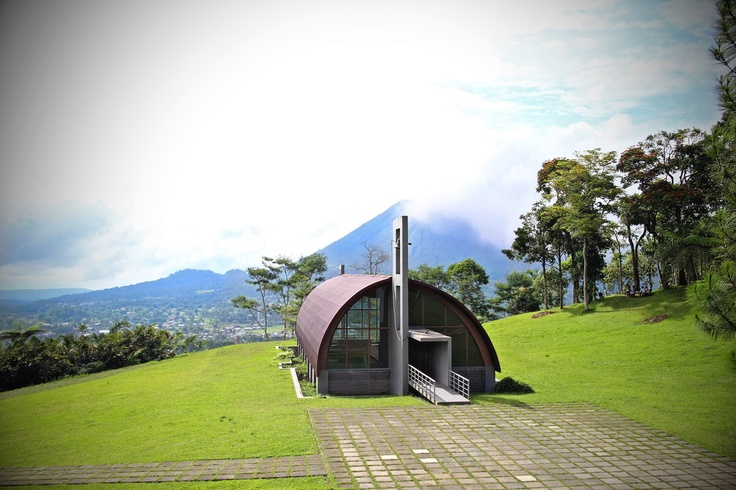 Chappel at Bukit Doa Tomohon