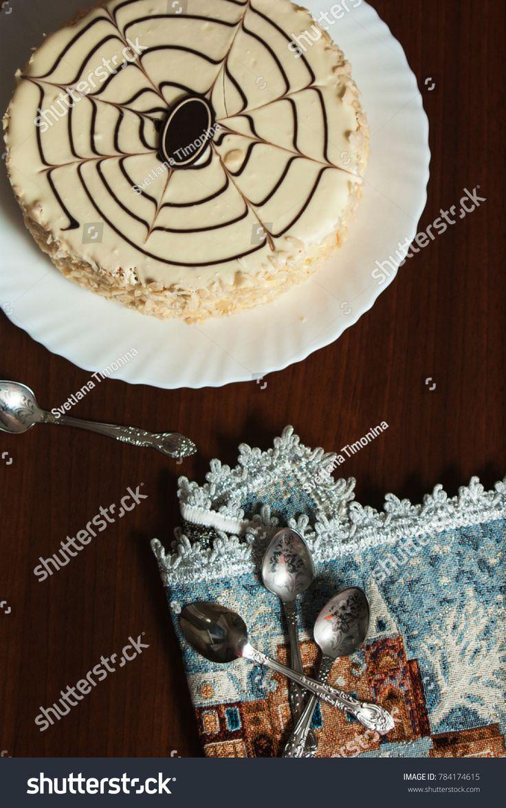 #svetatimoninastock Hungarian Esterhazy cake #cake #Esterhazy #torte #ornament