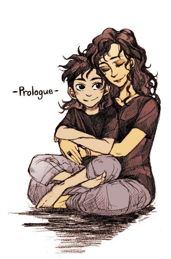 "Percy as a son of Hades AU with his mom. @chop-a-maru told me that they has published the prologue for 'Percy as a son of Hades AU' to their website! I've read already and screamed out ""OMG THIS IS AMAZING!!!"" It's an honor to spread this wonderful..."