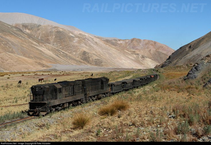 RailPictures.Net Photo: Codelco 93 Ferronor Chile GR12U at Diego de Almagro, Chile by Peter Hürzeler