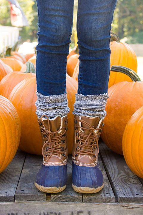 Duck. Duck. Boots! A stylish staple for your cold weather closet. duck boots…