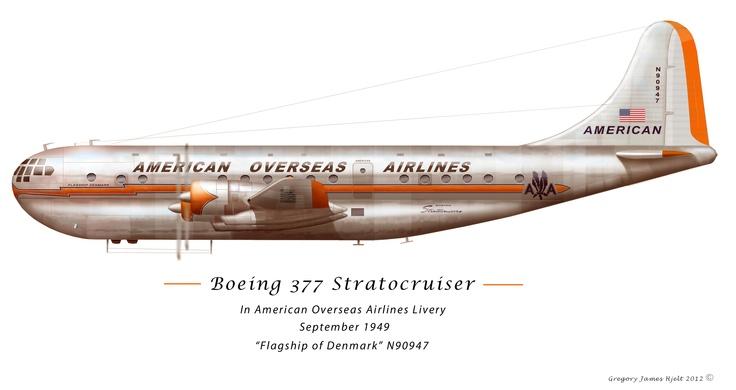 Boeing 377 Stratocruiser Aircraft Profiles Pinterest