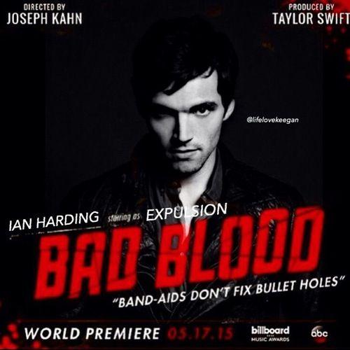 Ian Harding Bad Blood