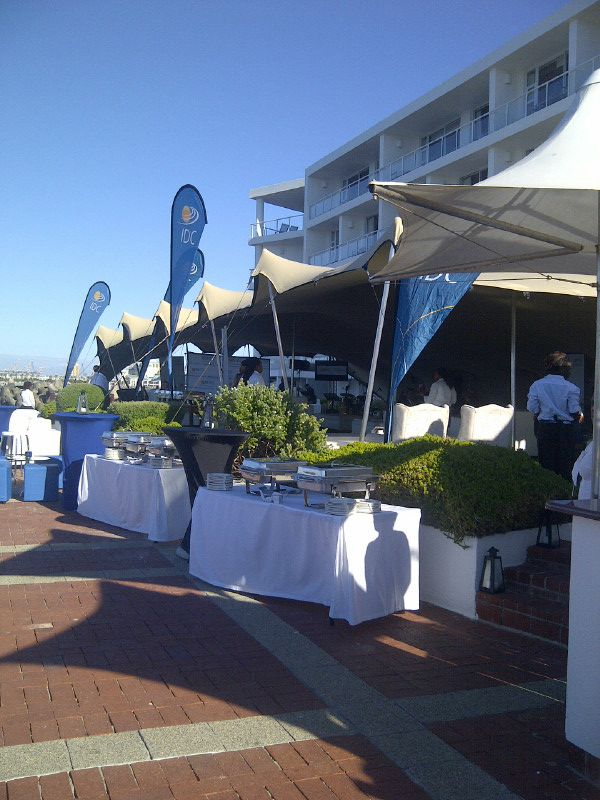 Cocktail Function at the waters edge- Raddisson Blu Hotel South Africa