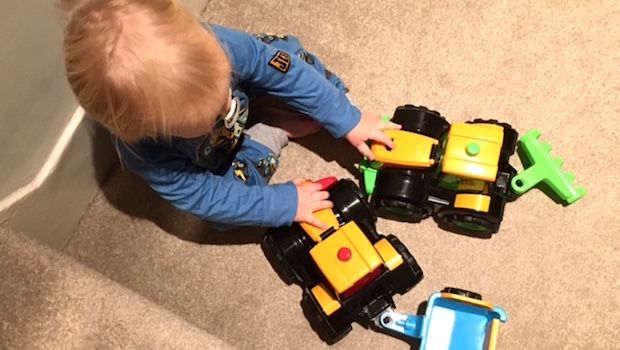 Review: My 1st JCB tractors for top toddler farm toys
