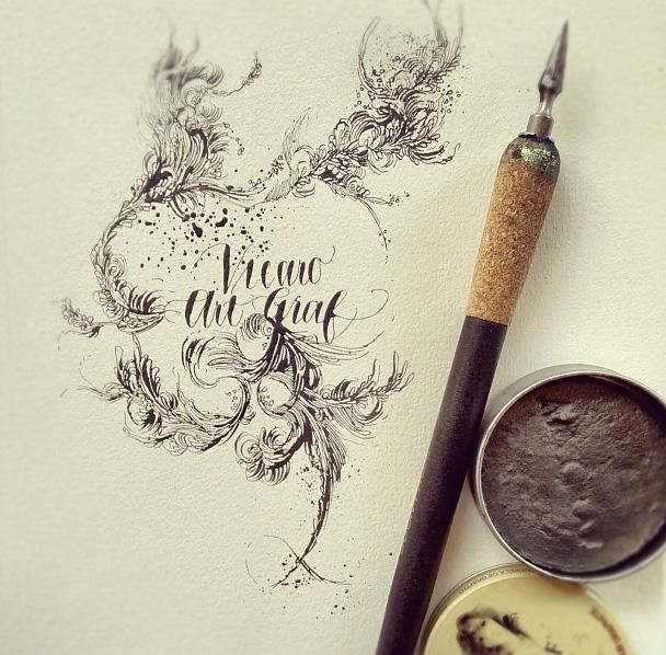 201 Best Images About Calligraphy Spotlight On Pinterest